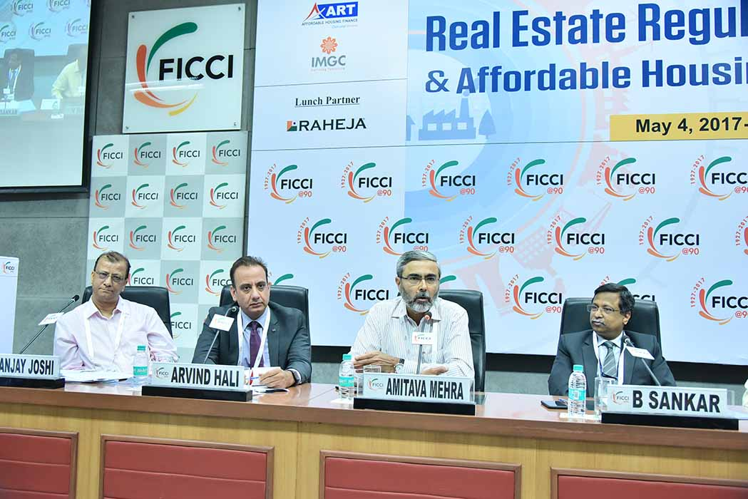 "FICCI Conference on ""Real Estate Regulation Rules, GST & Affordable Housing (CLSS Scheme)"""